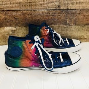 Converse sequins colorful sneakers